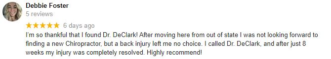 Chiropractic Elmhurst IL Patient Testimonial at Adapt Chiropractic